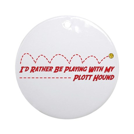 Plott Play Ornament (Round)