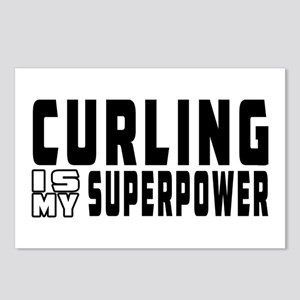 Curling Is My Superpower Postcards (Package of 8)