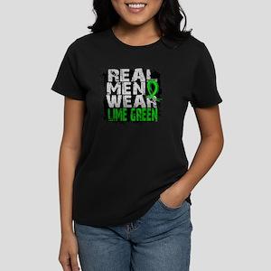 D Non-Hodgkins Lymphoma Real  Women's Dark T-Shirt