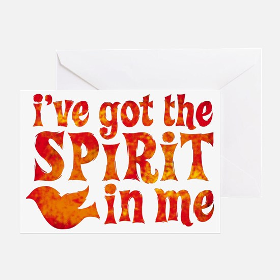 Spirit in Me Greeting Card
