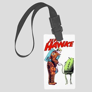 Jeff Hawke Meet Alien Large Luggage Tag