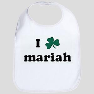 I Shamrock mariah Bib