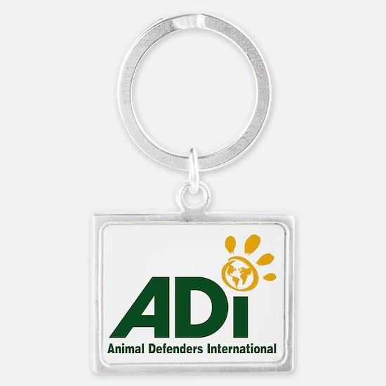 ADI logo Landscape Keychain