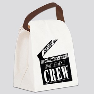 Broadcasting swag Canvas Lunch Bag