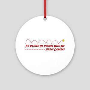 Presa Play Ornament (Round)