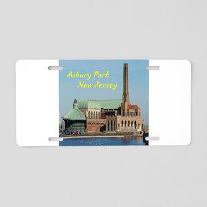 Square Asbury Park Casino Aluminum License Plate