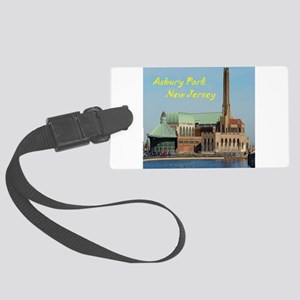 Square Asbury Park Casino Luggage Tag