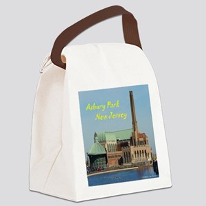 Square Asbury Park Casino Canvas Lunch Bag