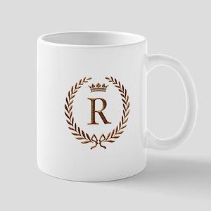 Napoleon initial letter R monogram Mug