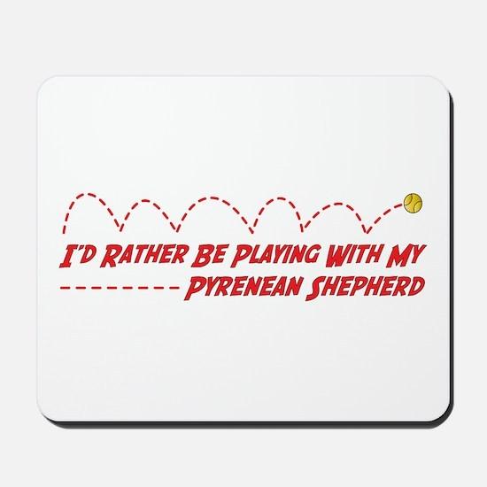 Pyrenean Play Mousepad
