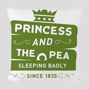 surlalune_logo_color_pea Woven Throw Pillow