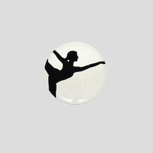 Bikram Yoga Bow Mini Button