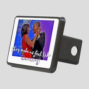 Dancing Obamas 2013 Rectangular Hitch Cover