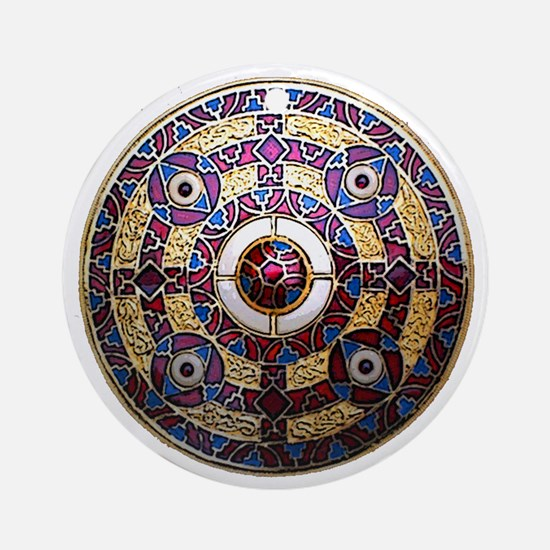 Kingston Brooch Round Ornament