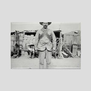 Pancho Villa Rectangle Magnet