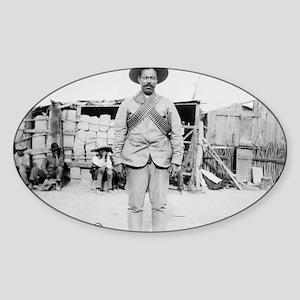 Pancho Villa Sticker (Oval)