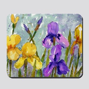Bearded Iris Mousepad
