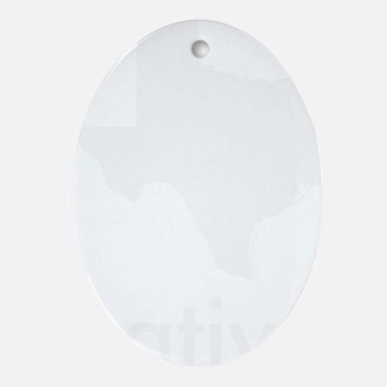 Native Oval Ornament
