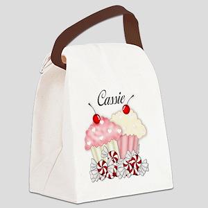 Cassie Canvas Lunch Bag