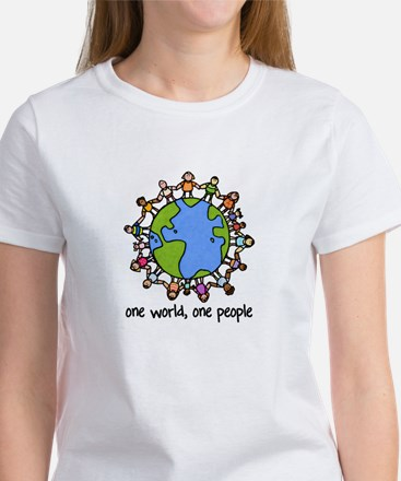 one world,one people Women's T-Shirt