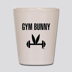 Gym Bunny Shot Glass