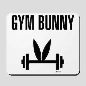 Gym Bunny Mousepad