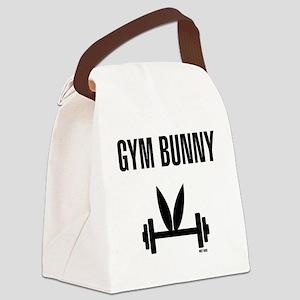 Gym Bunny Canvas Lunch Bag