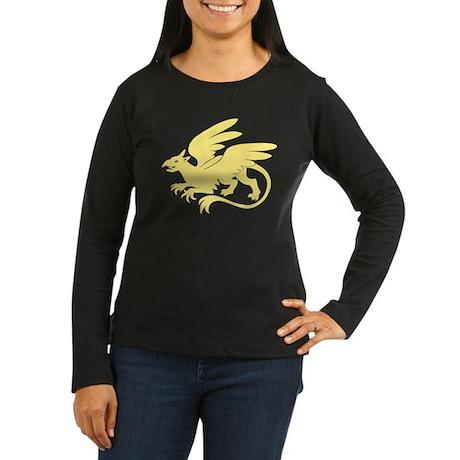 Gold Griffin - Women's Long Sleeve Dark T-Shirt