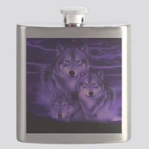 wolf pack Flask