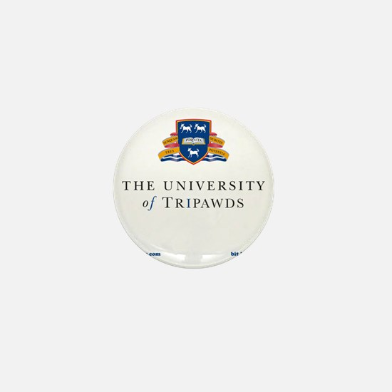 Tripawds University Mini Button