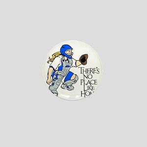 blue No Place Like Home Mini Button