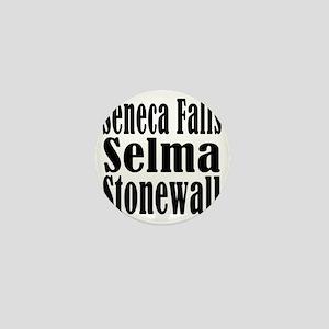 Seneca Falls Selma Stonewall Mini Button