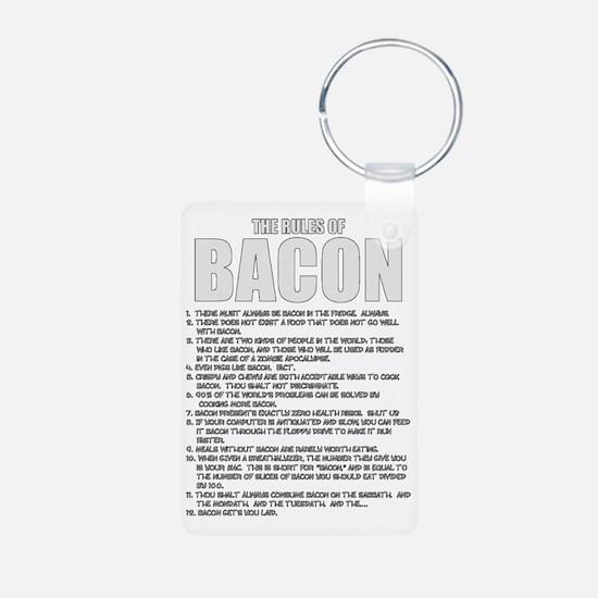 Bacon List Keychains