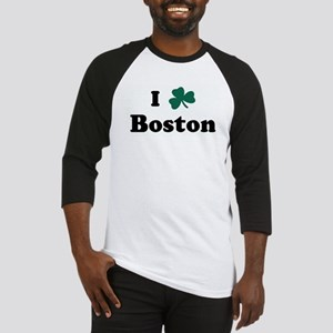 I Shamrock Boston Baseball Jersey