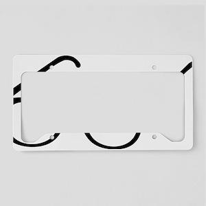 Eye Glasses License Plate Holder