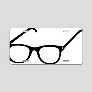 Eye Glasses Aluminum License Plate