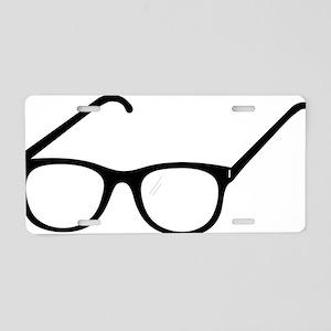 Eye Glasses Aluminum License Plate