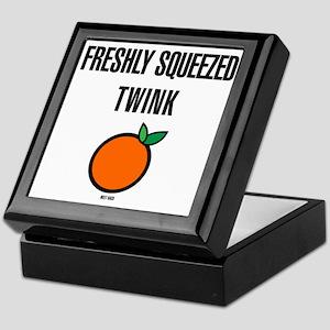 Freshly Squeezed Twink Keepsake Box
