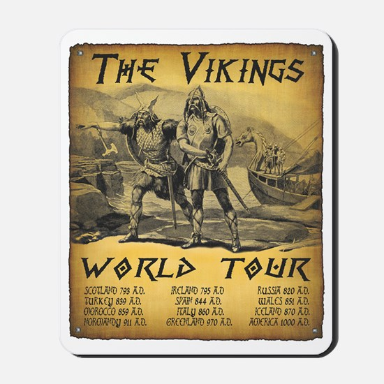 Viking World Tour Mousepad