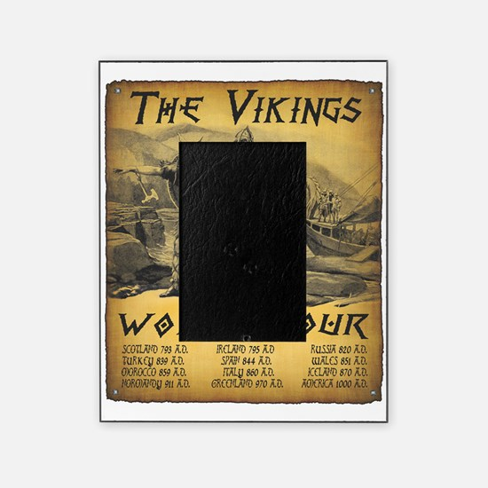 Viking World Tour Picture Frame