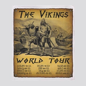Viking World Tour Throw Blanket
