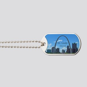 StLouis_5x3_sticker_StLouisSkyline Dog Tags
