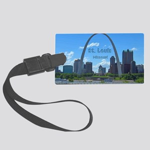 StLouis_5x3_sticker_StLouisSkyli Large Luggage Tag
