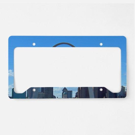 StLouis_5x3_sticker_StLouisSk License Plate Holder