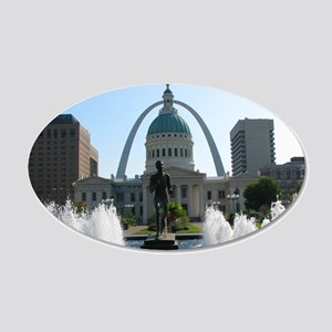 StLouis_10x8_Rect_DowntownSt 20x12 Oval Wall Decal