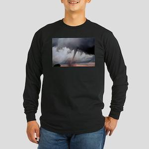 Tornado Fury Long Sleeve Dark T-Shirt