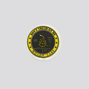 Dont Tread On Me (Yellow/Grey) Mini Button