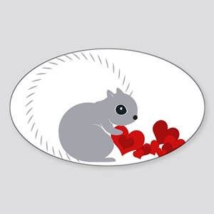 Heart Collector Sticker (Oval)