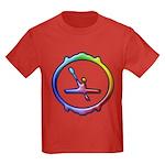 Paddling Kayak Kids Dark T-Shirt