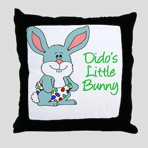 Didos Little Bunny Throw Pillow